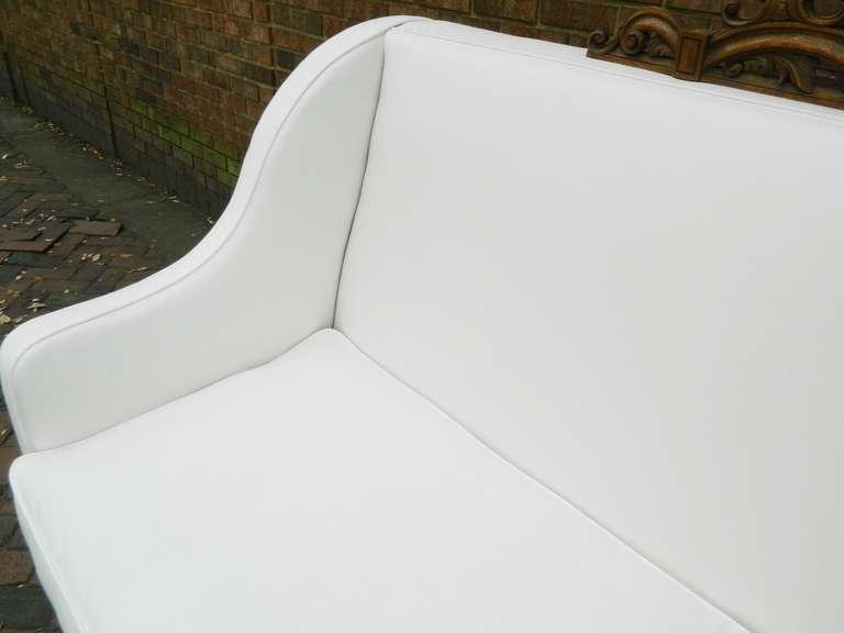 Oak 19th Century Italian Renaissance Revival Canape or Sofa For Sale