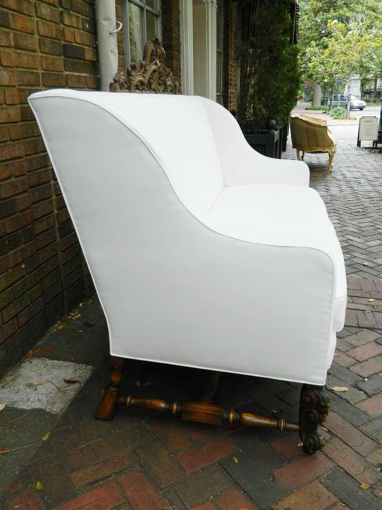 19th Century Italian Renaissance Revival Canape or Sofa For Sale 1