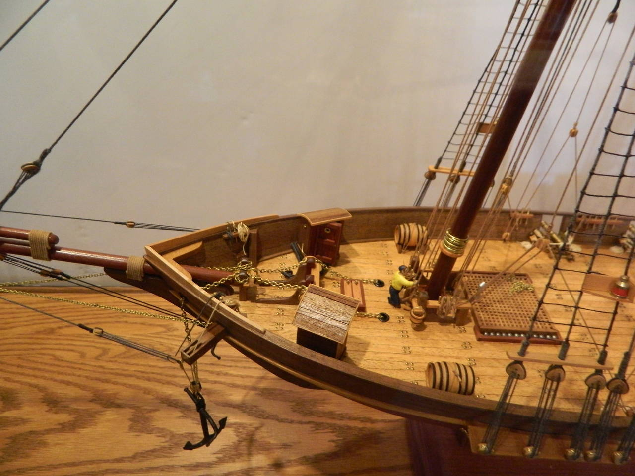 Ship Model Of The Harvey 1847 Baltimore Maryland In