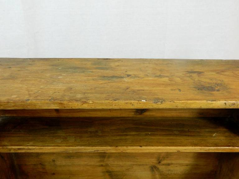 19th Century French Three-Tier Hanging Wall Shelf For Sale 1