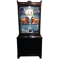 Chinoiserie Display Cabinet, 19th Century