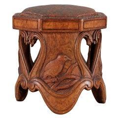 Art Nouveau Stool