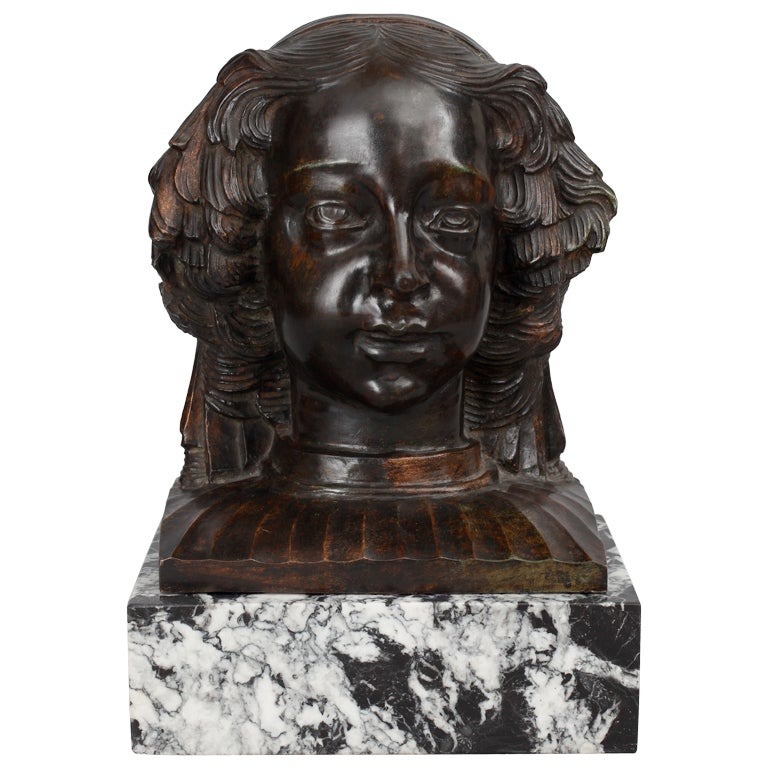 Head Of A Girl At 1stdibs