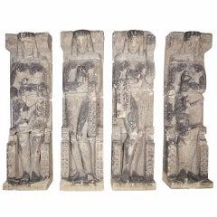 Four Monumental Female Figures