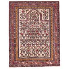 Antique Shirvan Prayer Rug
