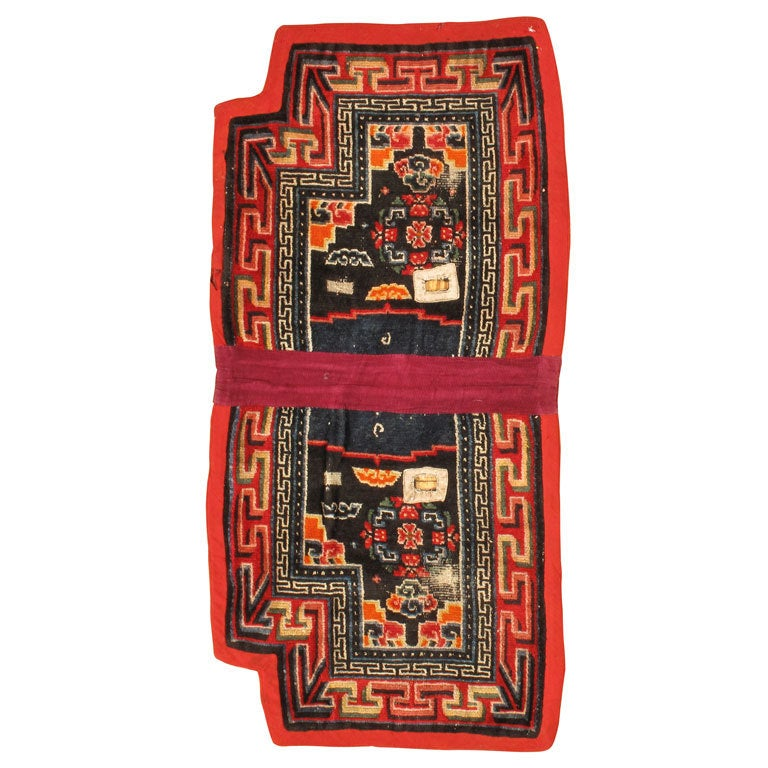 Antique Tibetan Rug: Maktri Tinkhor For Sale At 1stdibs