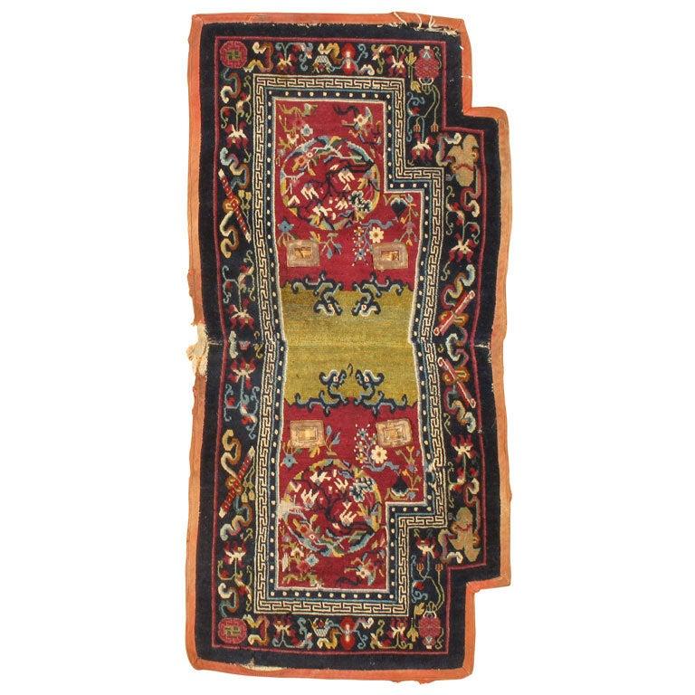 Antique Tibetan Rug: Mactin For Sale At 1stdibs
