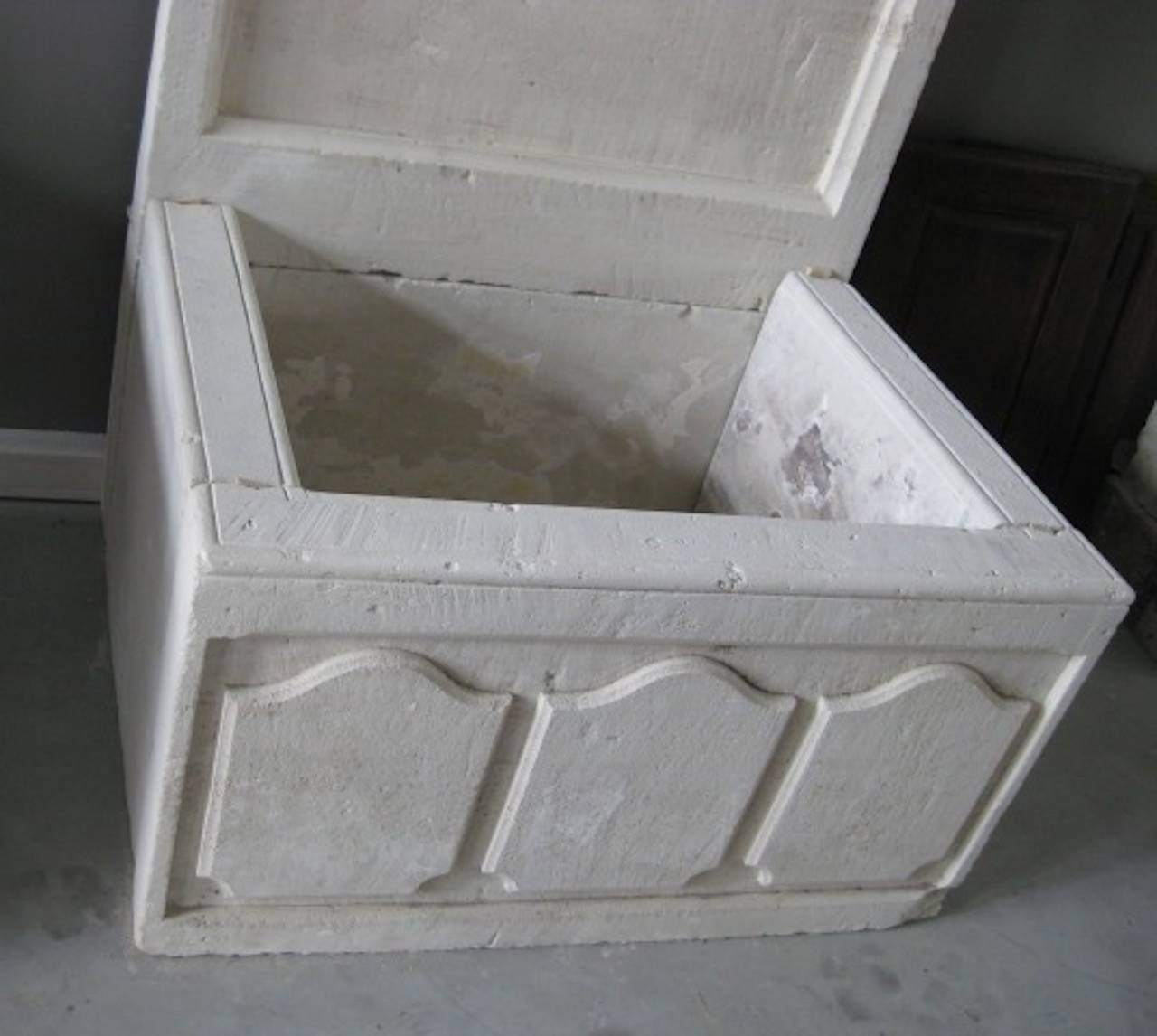 20th Century French Louis XIV Style Fountain Handcrafted Limestone, Provence, France For Sale