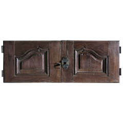 French Louis XV Period Cupboard in Oak circa 1750 France.'.