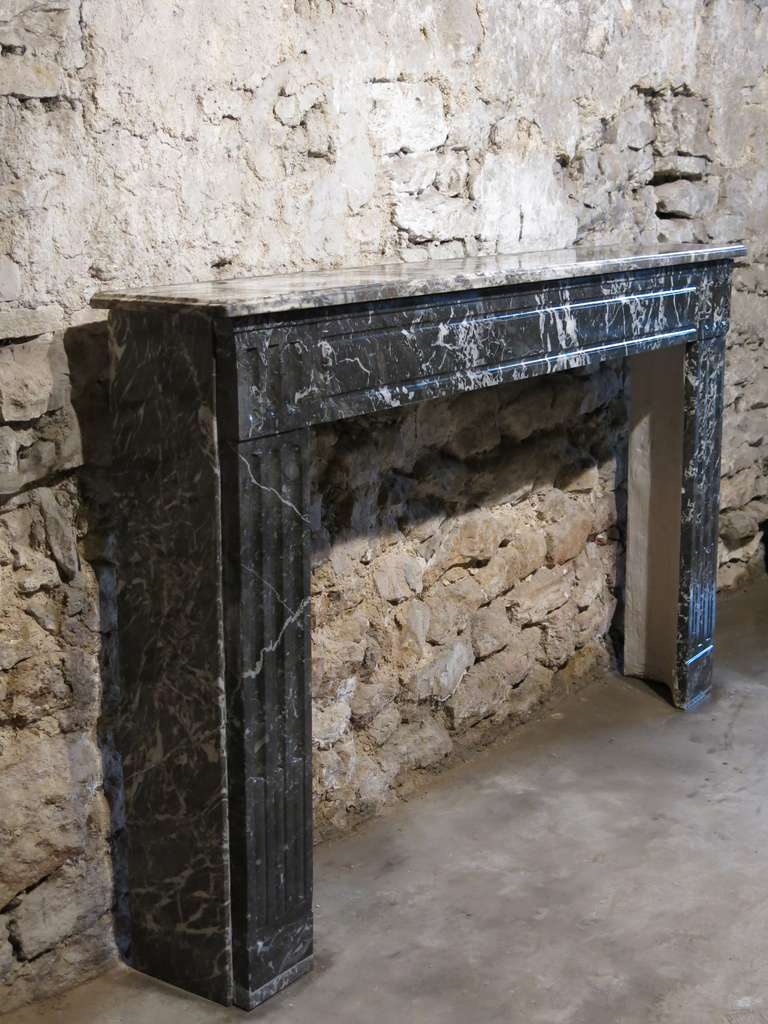 French Louis Xvi Style Marble Fireplace Circa 1850 France At 1stdibs