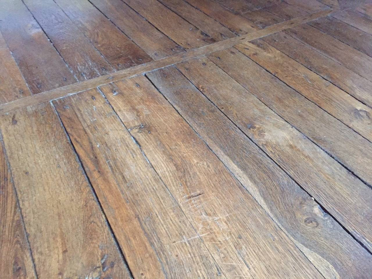 Original french antique solid wood oak flooring 17th 19th for Real wood flooring sale