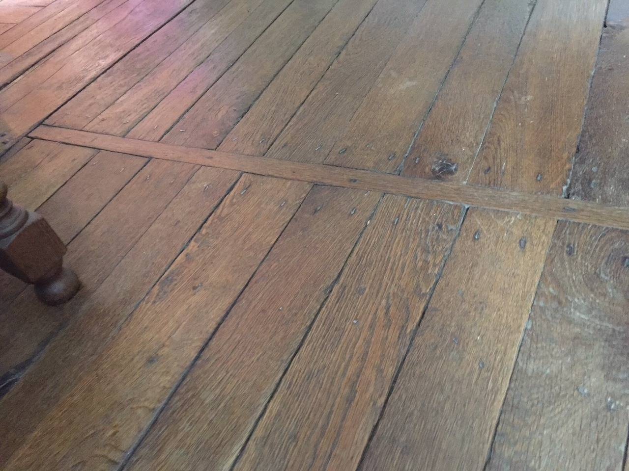 French authentic oak flooring original floor 17th 18th for Oak wood flooring for sale