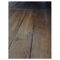 French Authentic Oak Flooring, Original Floor 17th-18th Century, France
