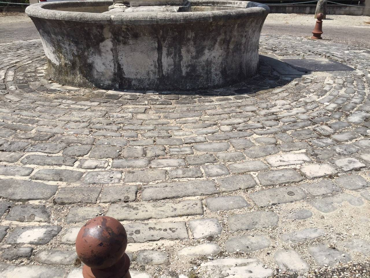 18th Century and Earlier Authentic French Antique Cobblestone 17th Century, Paris, France For Sale