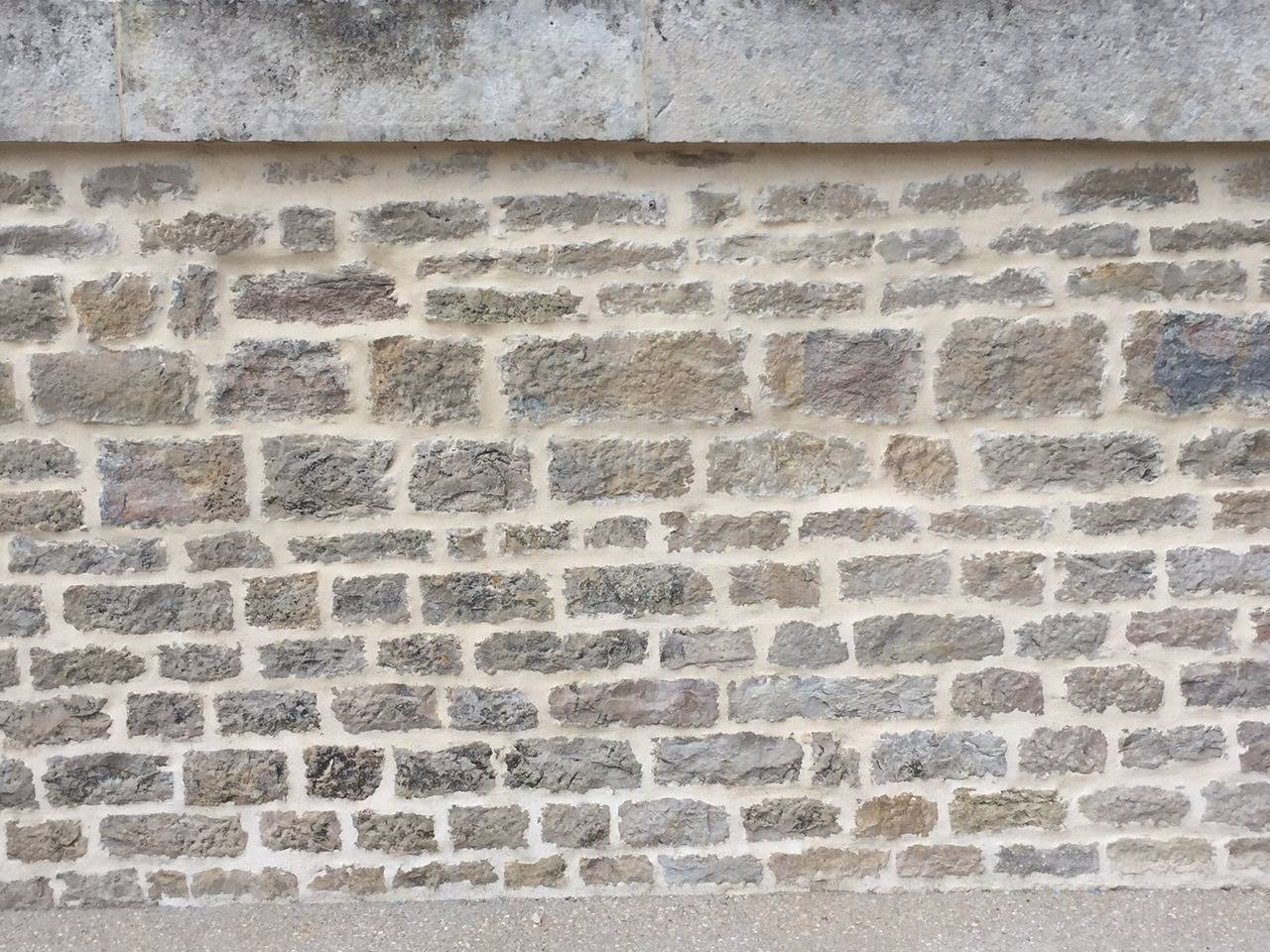 18th Century and Earlier French Antique Limestone Wall Surround, 18th Century, France For Sale