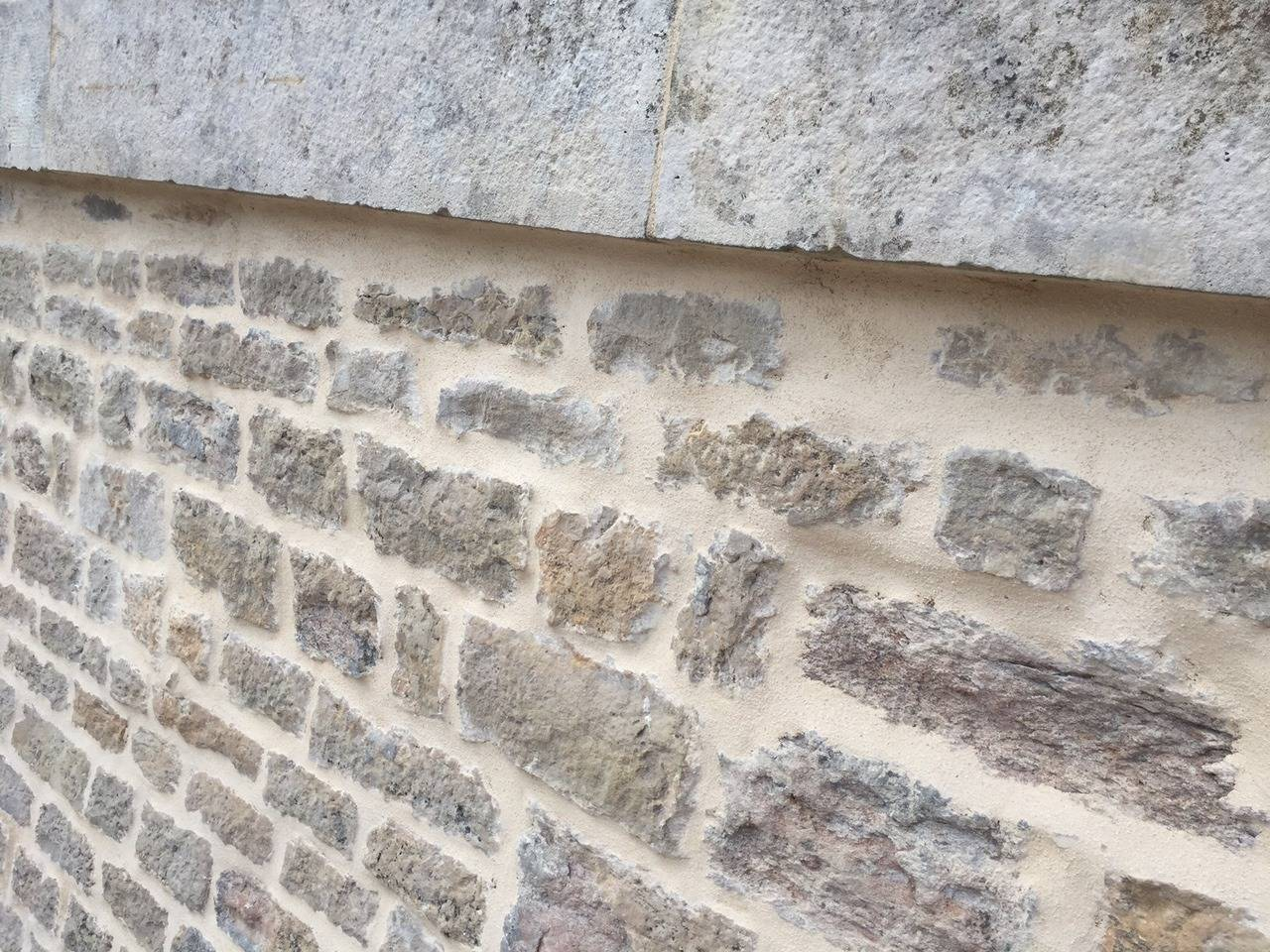 French Antique Limestone Wall Surround, 18th Century, France For Sale 4