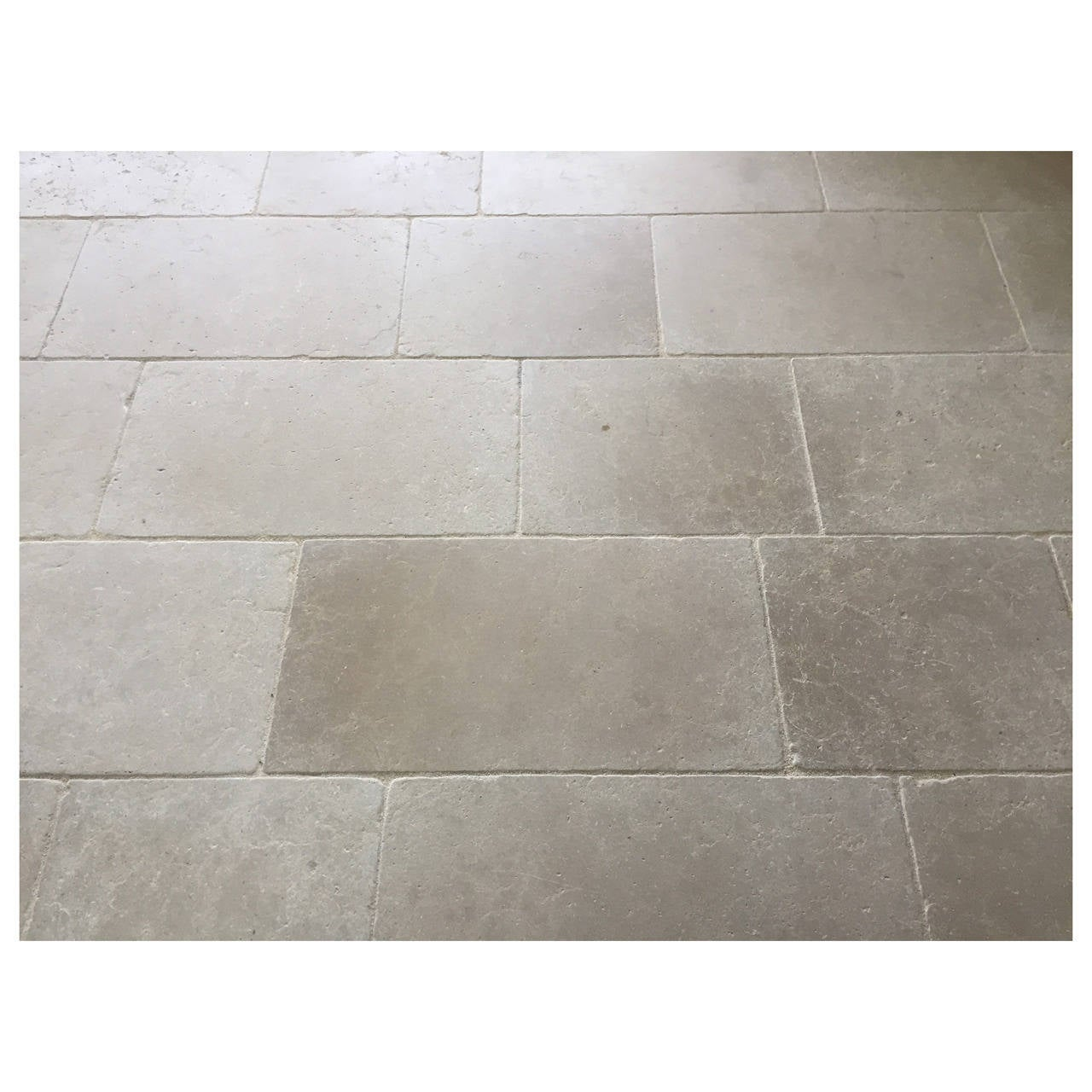 Parisian Style Flooring In Pure and Solid Limestone, Hand-Crafted ...
