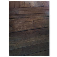 Authentic French Antique Wood Oak Floor, 17th-18th Century, France