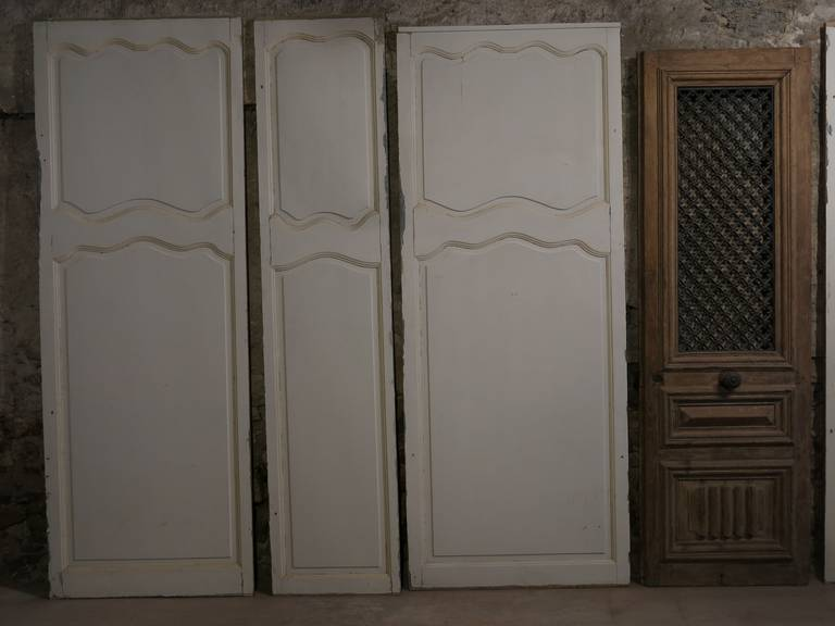 French Wall Covering : French louis xv style wall wood work six panels paris