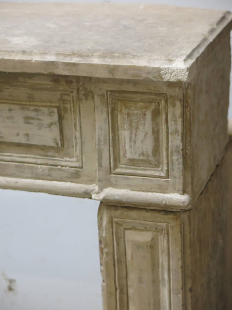 French Directoire Style Fireplace In Limestone Circa 1800s Paris France At 1stdibs