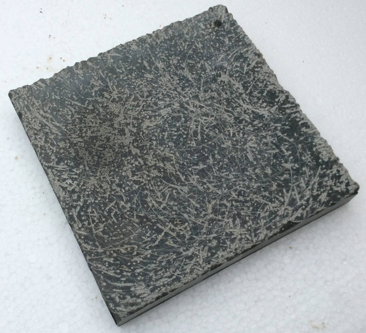 French Belgium Blue-Dark Stone Style Brush Hand-Finishing Random Pattern For Sale