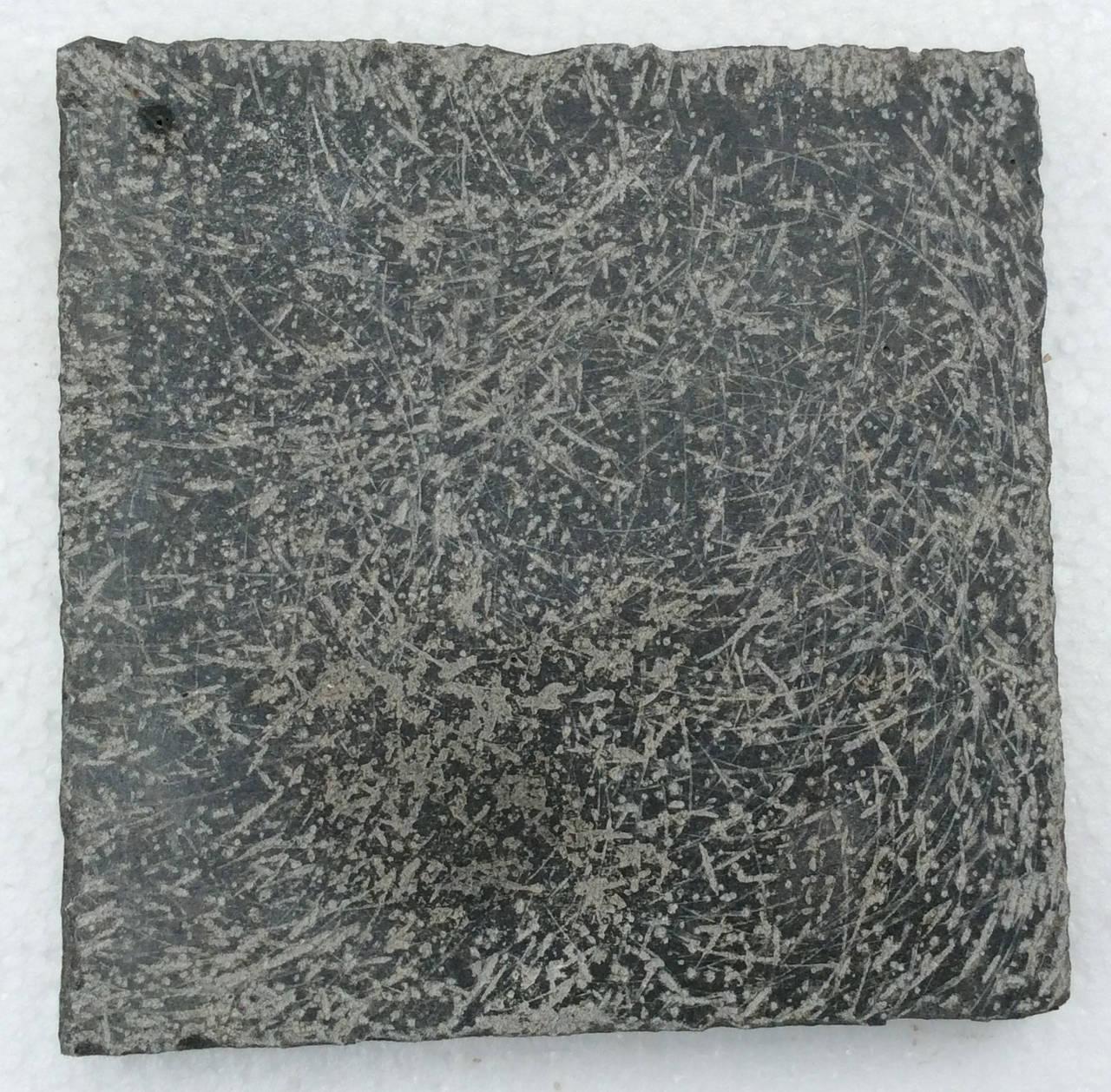 Country Belgium Blue-Dark Stone Style Brush Hand-Finishing Random Pattern For Sale