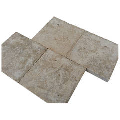 French Parisian Style Floors in Limestone