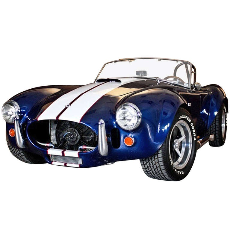"Shelby AC Cobra / Original Engine ""427"" from 1967 Collection Car"