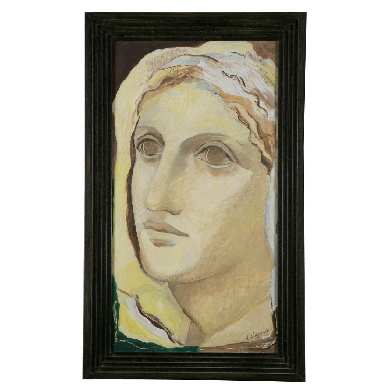 Woman Portrait, 1930s, by Maria Lagorio For Sale