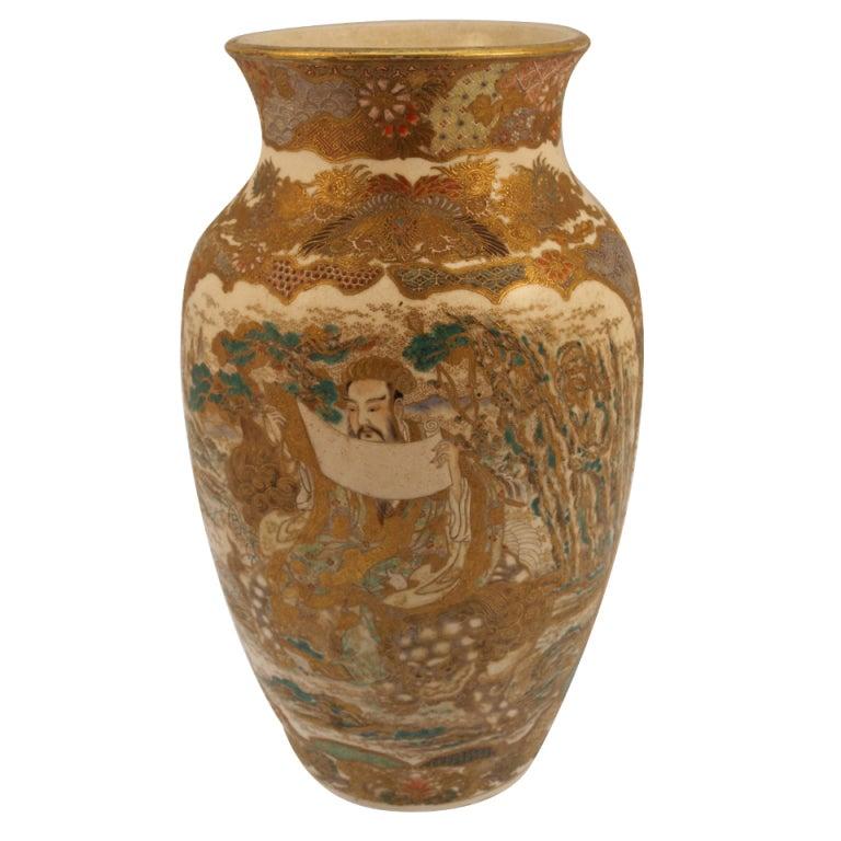 Http Www 1stdibs Com Furniture Dining Entertaining Vases Satsuma Vase Meiji Period Id F 752319