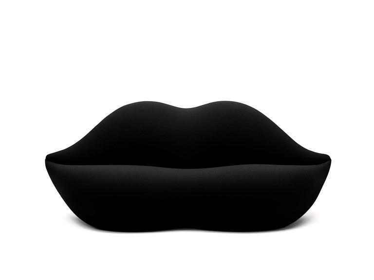 For Sale: Black (501) Gufram Standard Colors Bocca Unlimited by Studio 65