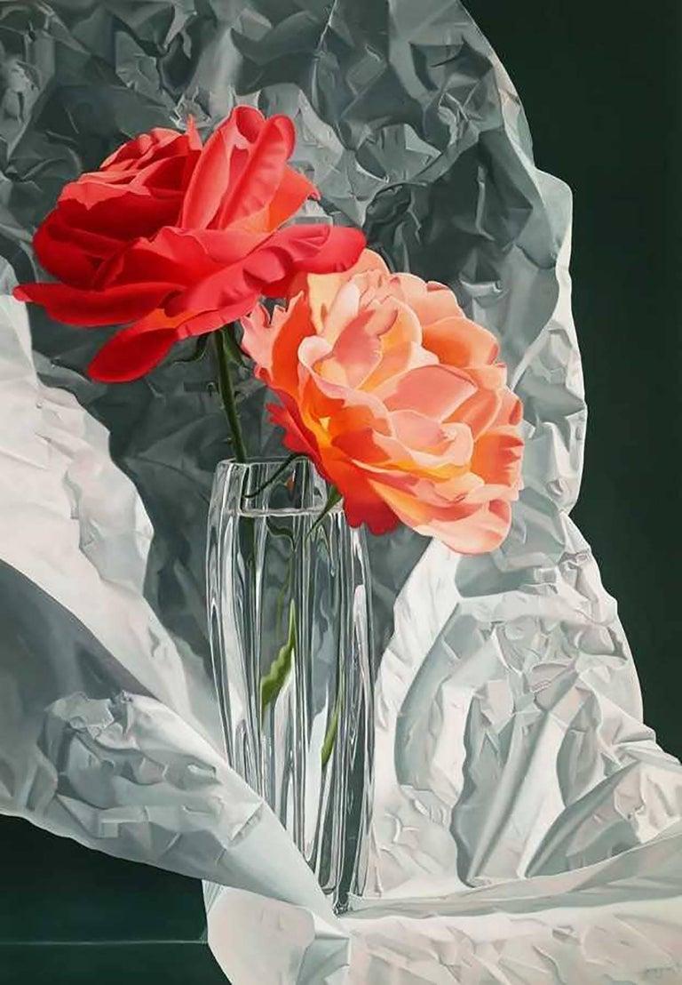"Jane Jones Figurative Painting - ""The Gift"""