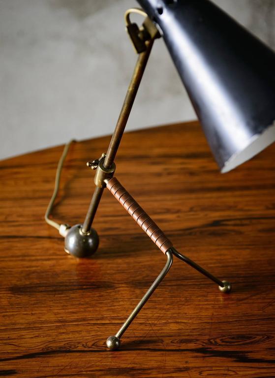 Mid-Century Modern Tapio Wirkkala Table Lamp For Sale