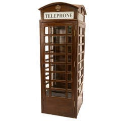 19th Century Victorian Style British Phone Booth