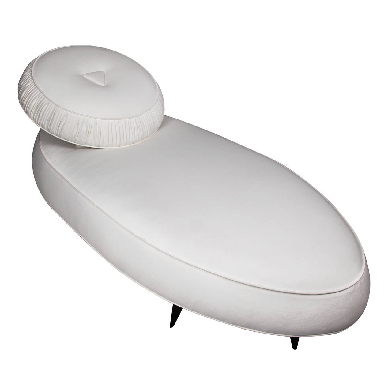 Unusual french art deco chaise longue for sale at 1stdibs for Art deco chaise longue