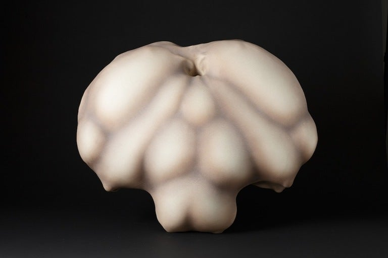 Porcelain sculpture by Wayne Fischer.