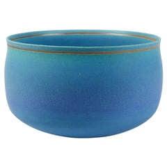 Blue Dusky Stoneware Cup by Alev Ebüzzyia Siesbye