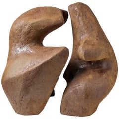 Important Stoneware Sculpture by Tim and Jacqueline Orr, circa 1980