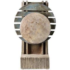 Stoneware Sculpture by Gustave Tiffoche