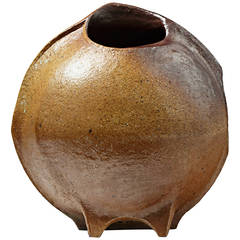 Important Stoneware Vase, La Borne, circa 1976