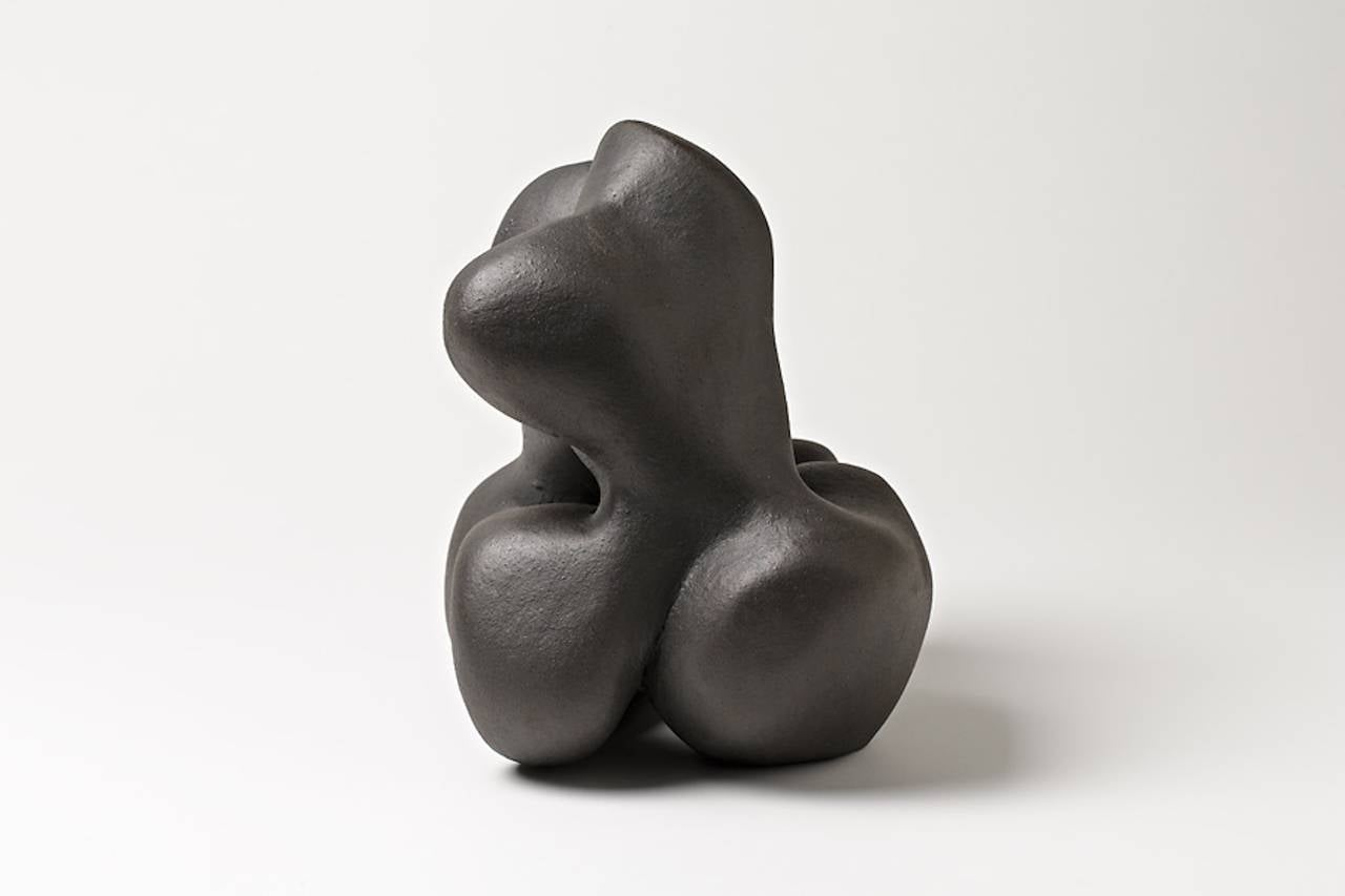 Molded Elegant Ceramic Sculpture by Tim Orr, circa 1970 For Sale