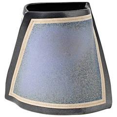 Stoneware Vase by Gustavo Pérez