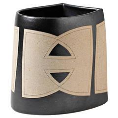 An Important Stoneware Vase By Rene Ben Lisa At 1stdibs