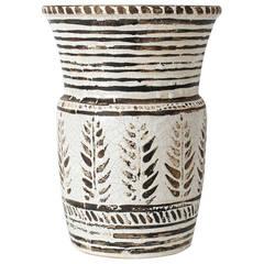Important Ceramic Vase by Jean Besnard