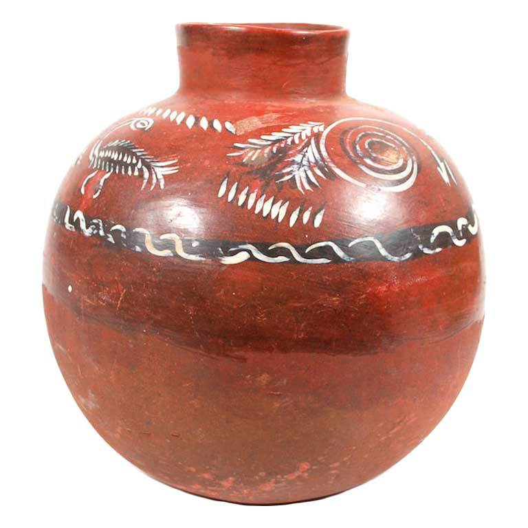 antique mexican large olla cantaro pot at 1stdibs