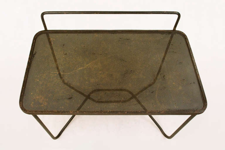 Mid 20th Century Side Table Designed By Mathieu Mategot Circa 1953 For Sale