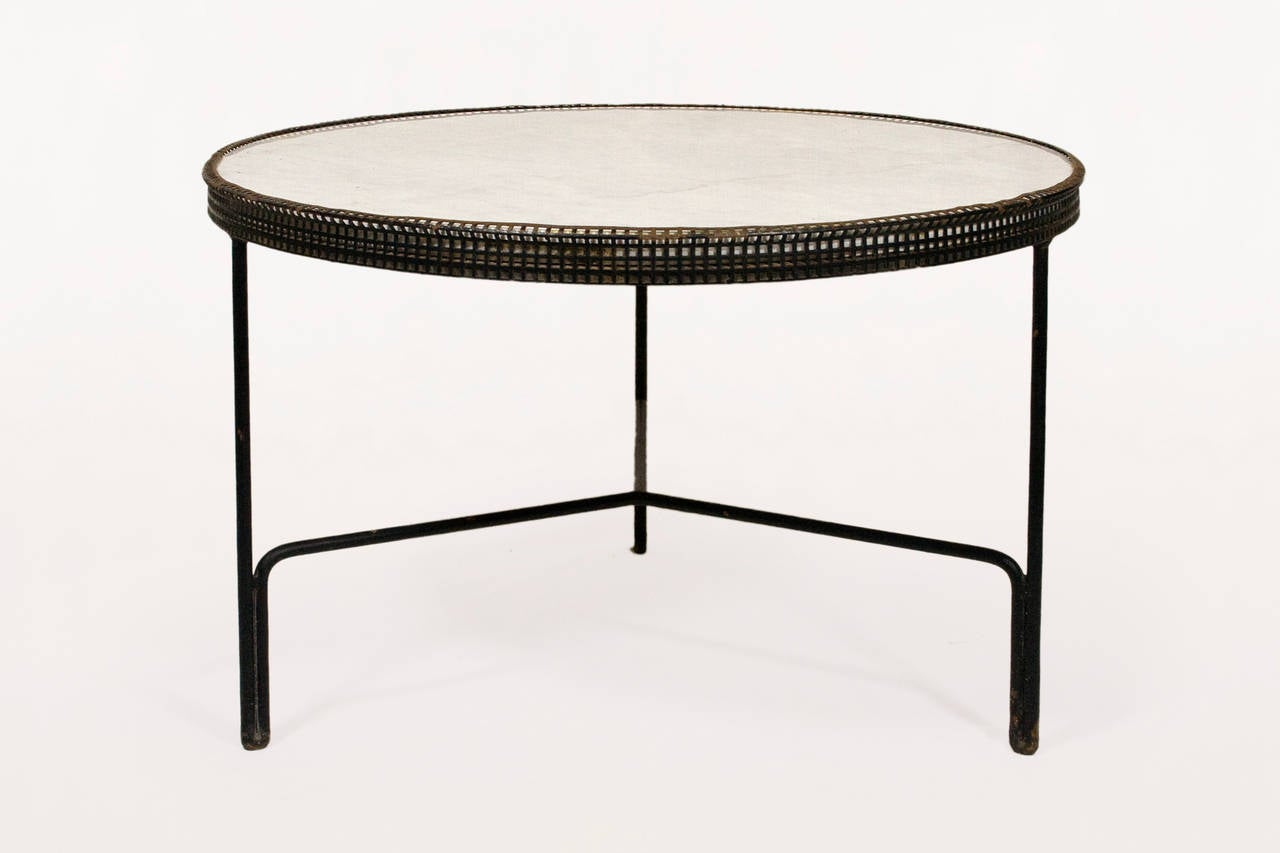 Pair of Mathieu Mategot Coffee Tables, circa 1950, France at 1stdibs