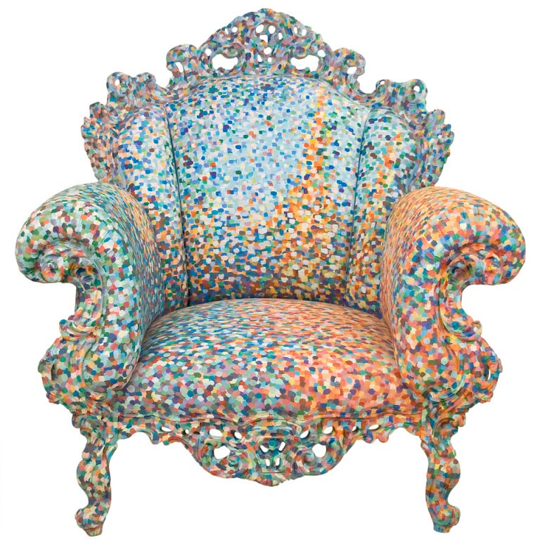 Poltrona Di Proust Armchair By Alessandro Mendini At 1stdibs