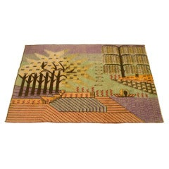 Frank lloyd wright waterfall stripe rug circa 1990 usa for sale at 1stdibs - Frank lloyd wright area rugs ...