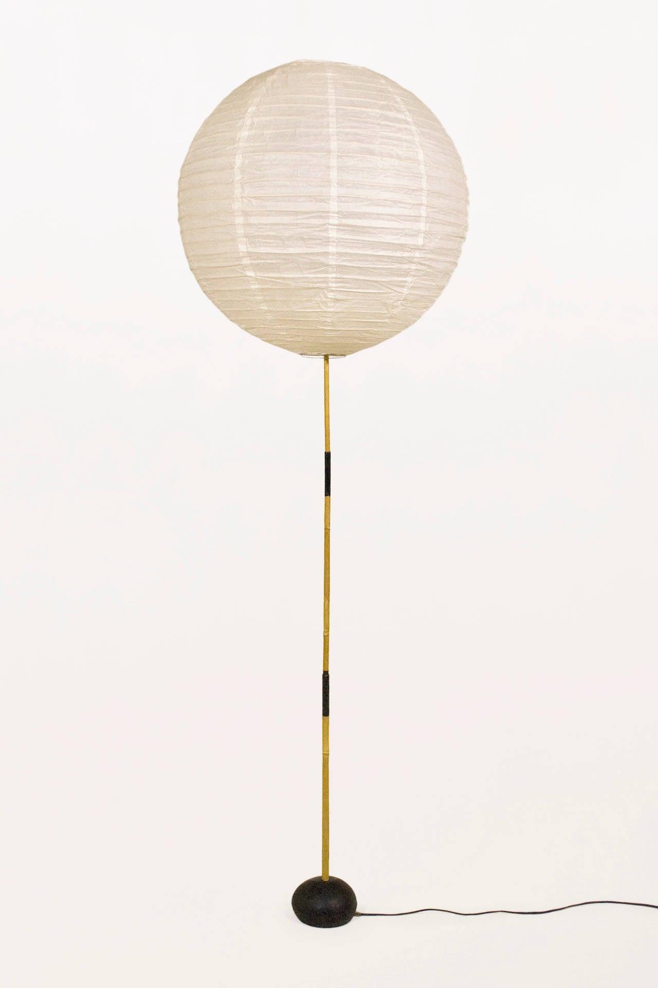 Early Isamu Noguchi Akari Floor Lamp, circa 1950, Japan at 1stdibs
